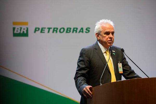 Estamos preparando a Petrobras para viver com petróleo abaixo de US$ 25, diz presidente da companhia