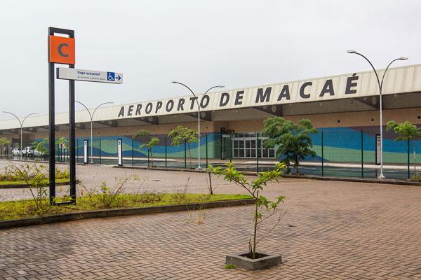 Aeroporto de Macaé - Foto Rui Porto Filho