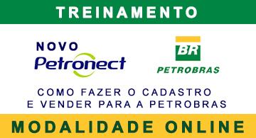 Treinamento Petronect Online - saiba fazer o cadastro no Grupo Petrobras