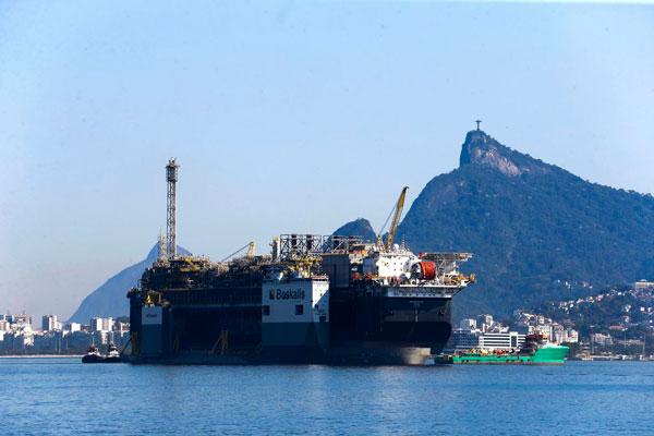 Petrobras inicia produção da plataforma P-67 no Campo de