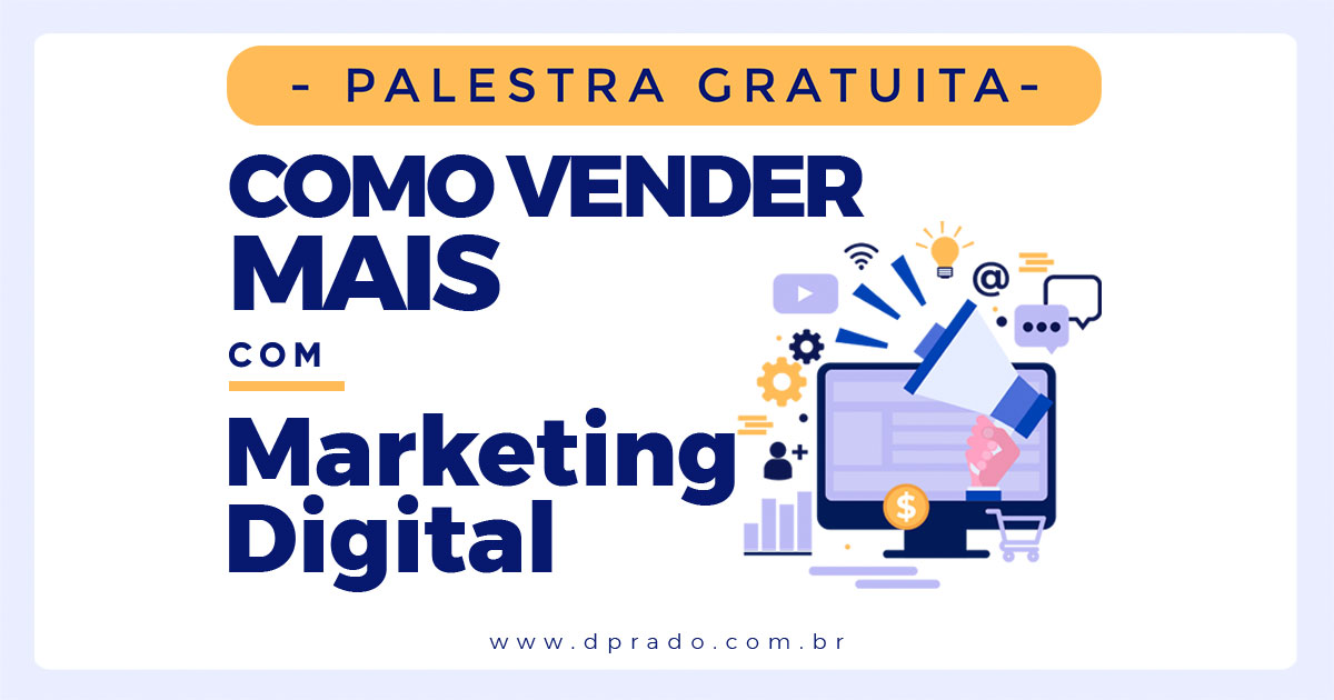 Macaé recebe palestra gratuita sobre 'Como Vender Mais com Marketing Digital'